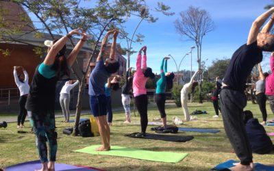 Yoga libre, al aire!