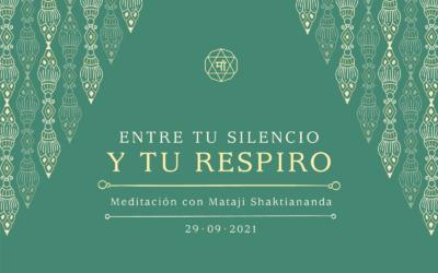 Entre tu silencio y tu respiro